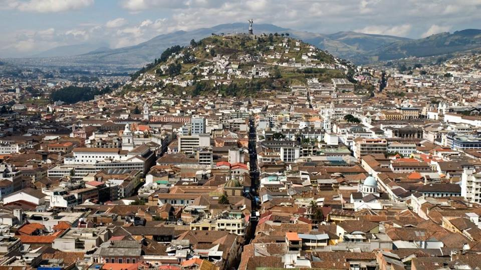 Madrid-Quito con Iberia