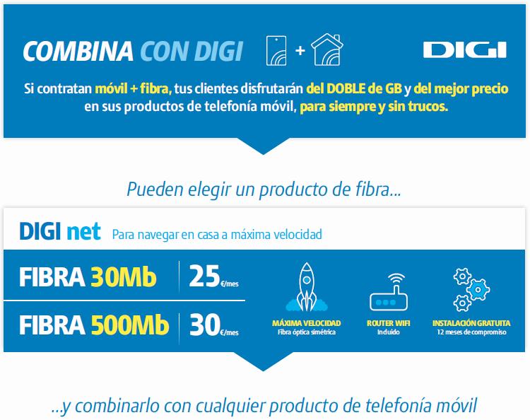Fibra Digi Mobil Murcia